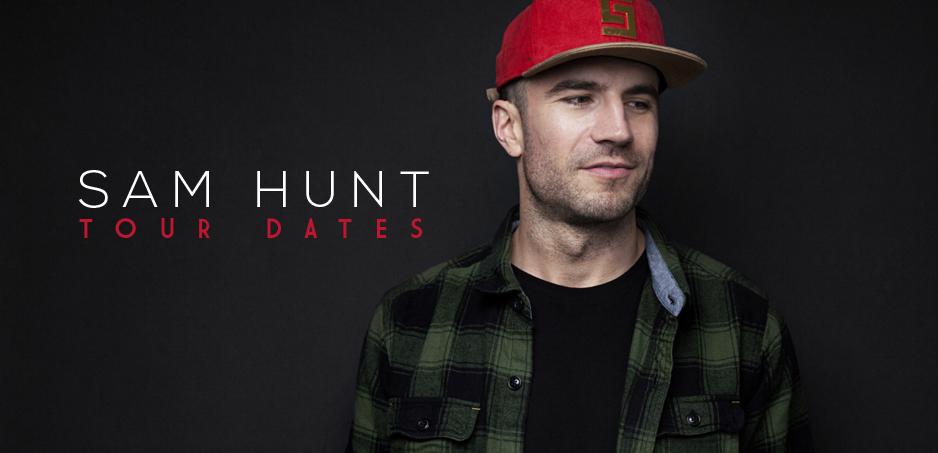 Tour Dates For All Sam Hunt
